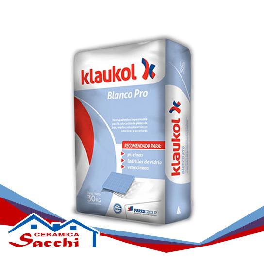 Cemento blanco Klaukol